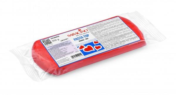 Roter Fondant Saracino PastaTop - 500g