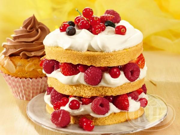 Torten Creme Vanille 100g