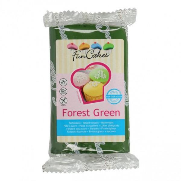 FunCakes Rollfondant Forest Green 250gr