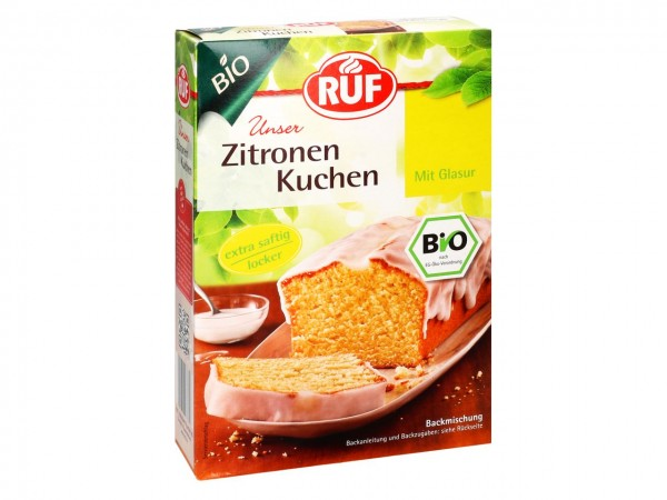 Bio Zitronenkuchen 475g