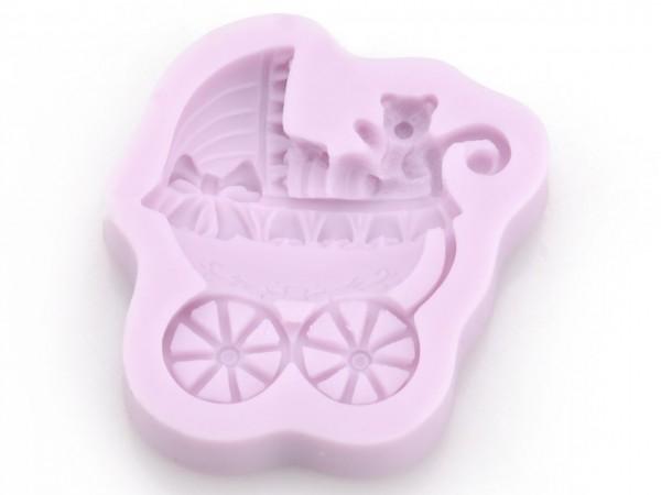 Kinderwagen Silikonform