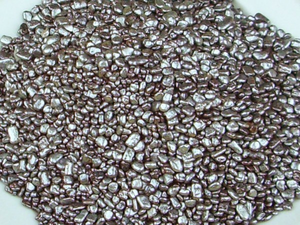 Dekorflocken silber 80g