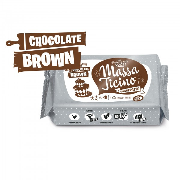 Massa Ticino Tropic - Chocolate Brown (AZO FREI, VEGAN)