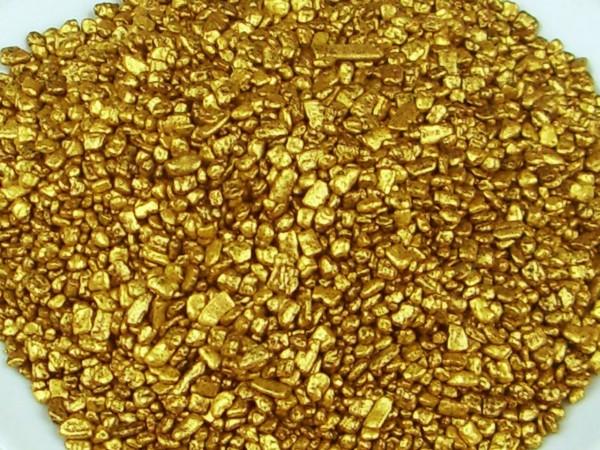 Dekorflocken gold 80g