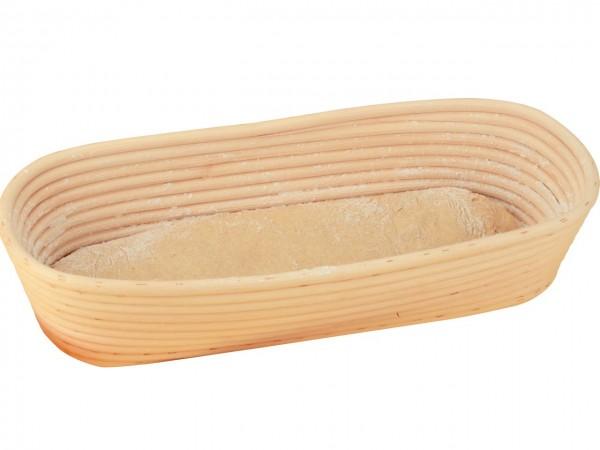 Gärkörbchen lang für ca. 1000g Brote