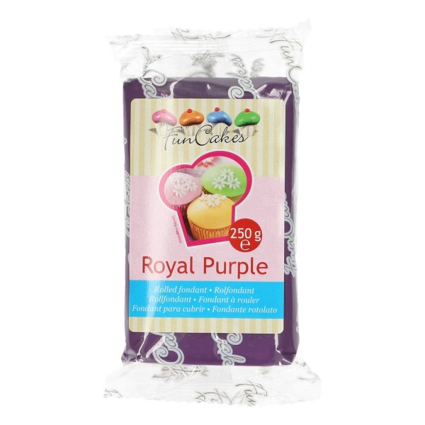 FunCakes Rollfondant Royal Purple 250gr