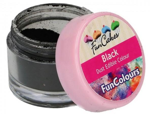 Edible FunColours Dust - Black - FunCakes