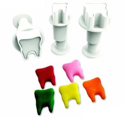 Stempelausstecher Zähne Fondant Zahn