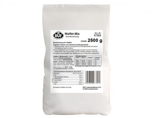 Waffel-Mix Grundmischung 2,5 kg