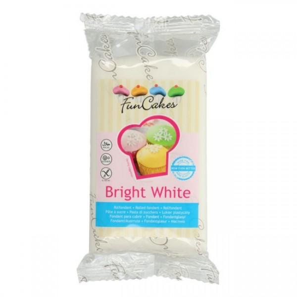 FunCakes Rollfondant Bright White 250g