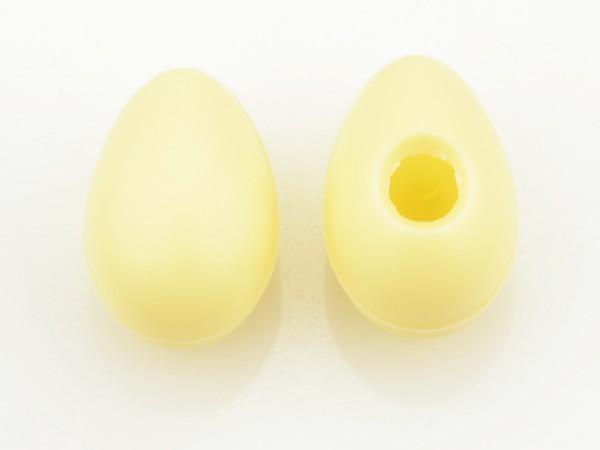Medium Eier Hohlkörper Weiß - Folie je 45 Stück