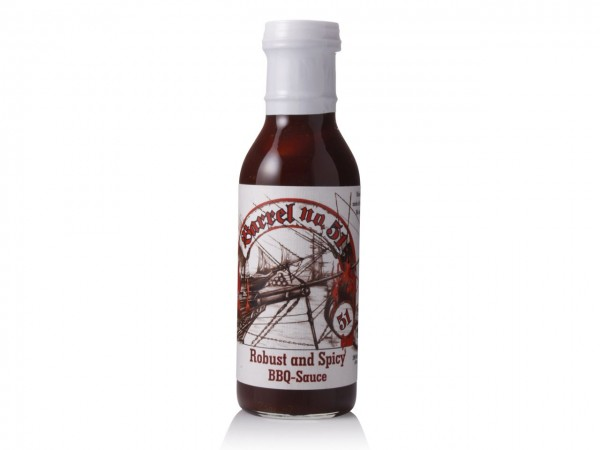Robust and Spicy BBQ Sauce 396ml