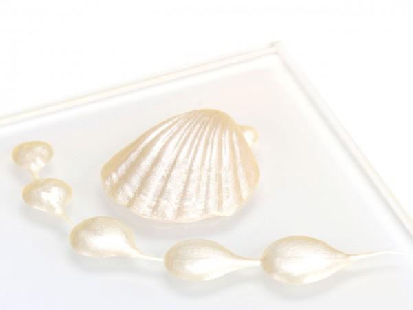 Metallic Perlmutt Ivory RD Lebensmittelfarbe