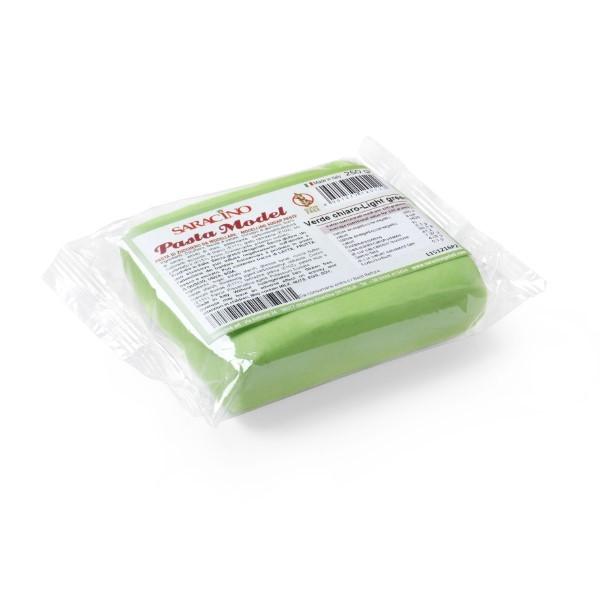 Hellgrüner Modellierfondant Saracino Pasta Model - 250g
