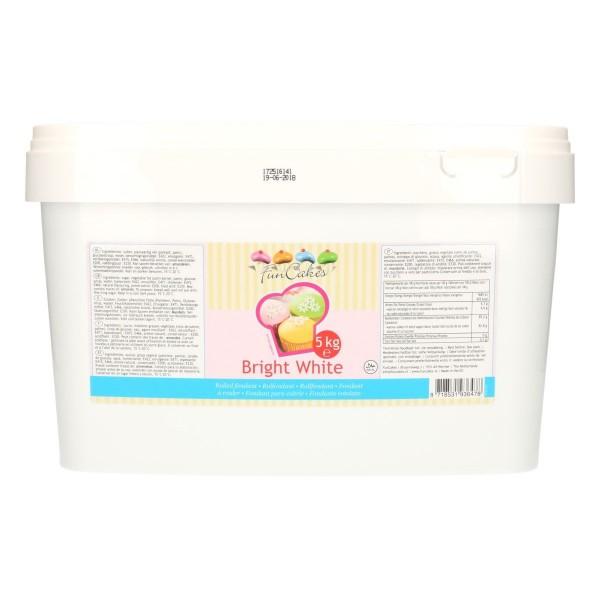FunCakes Rollfondant Bright White 5kg