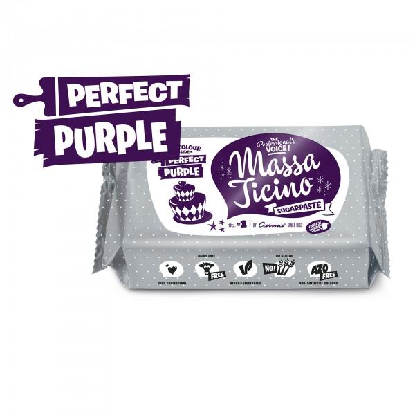 Perfect Purple Fondant Massa Ticino Tropic - 250g