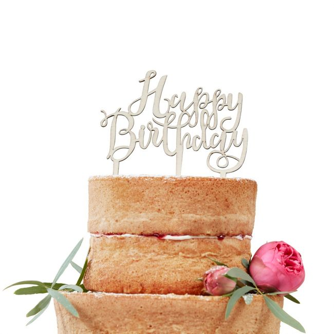 Vorschau Happy Birthday Cake Topper