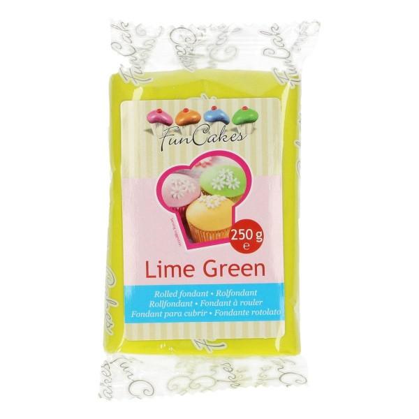 FunCakes Rollfondant Lime Green 250gr