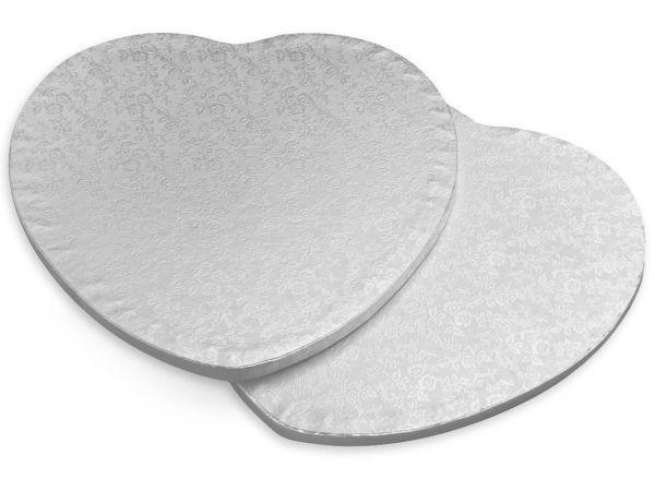 Kuchenplatte 12mm Herz Ø 25cm