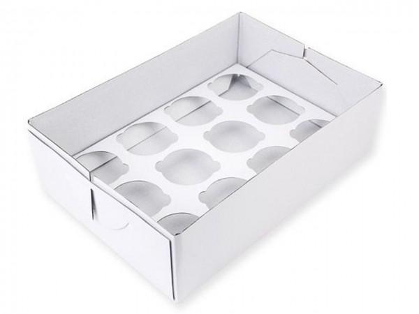 Cupcake Box 12 - 9cm hoch