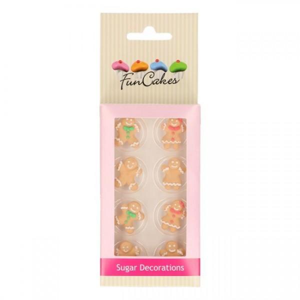 Zuckerdeko Lebkuchen 8 tlg Set