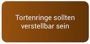 Backformen-Tip-Tortenringe
