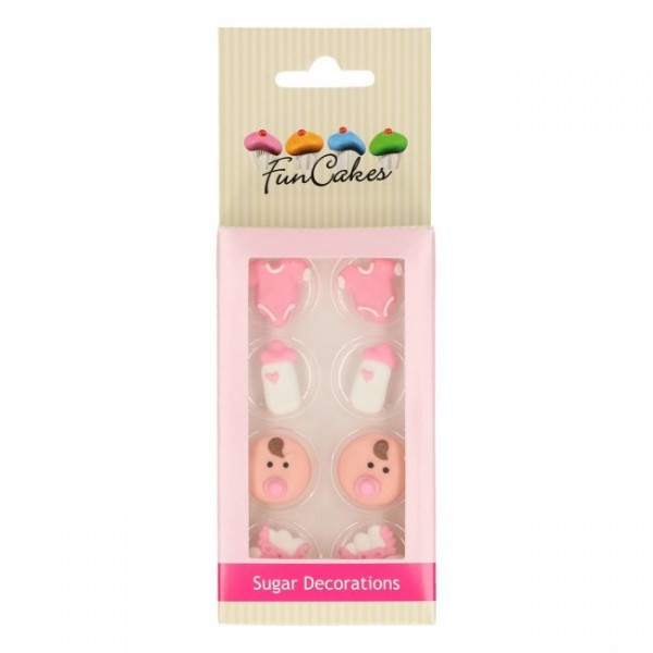 Zuckerdeko Baby Girl 8 tlg Set