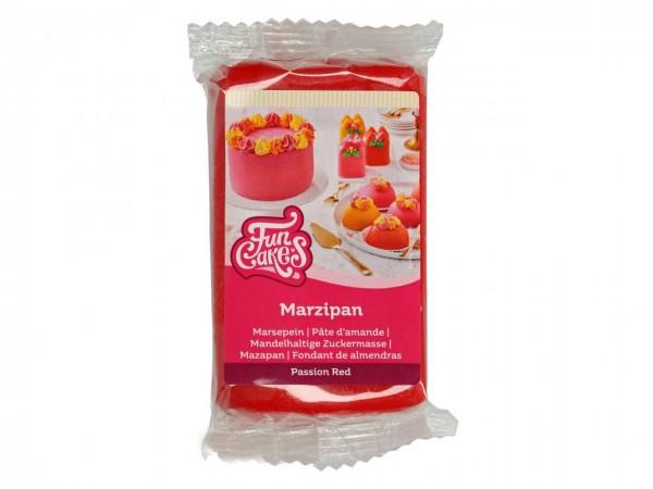 Passion Red Marzipan ähnliche Zuckermasse FunCakes - 250gr