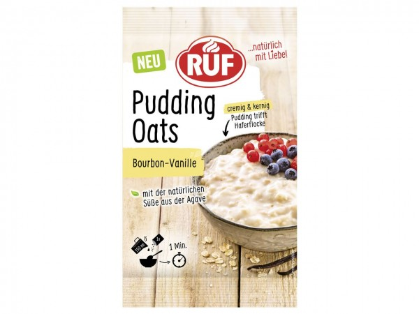 Pudding Oats Bourbon-Vanille 64gr