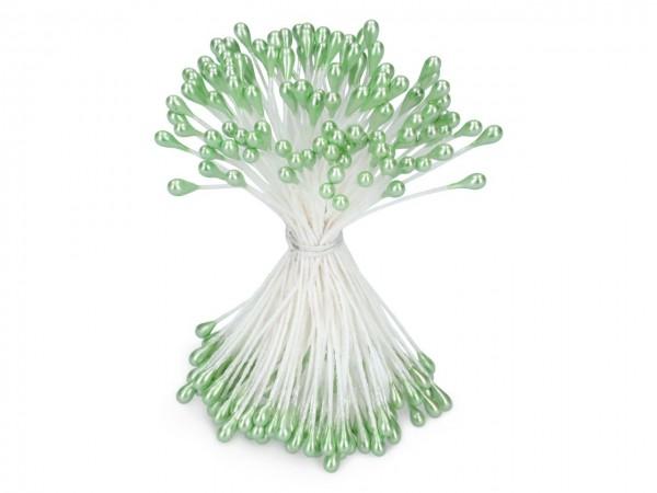 Staubblüten grün 120 Stück