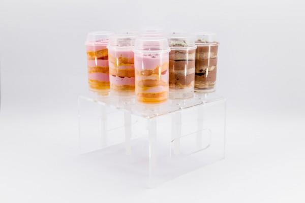 Acryl Ständer für 9 Push Up Cake Pops_