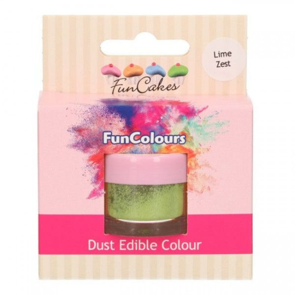 FunCakes Edible FunColours Dust - Lime Zest