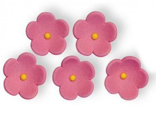 Zuckerblumen pink 30 Stk 30mm