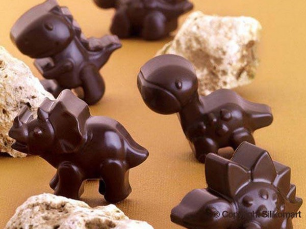 Schokoladenform Choco Dino Silikonform