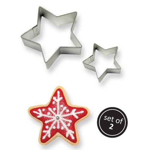 Cookie Ausstecher Sterne 2tlg.