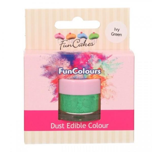FunCakes Edible FunColours Dust - Ivy Green