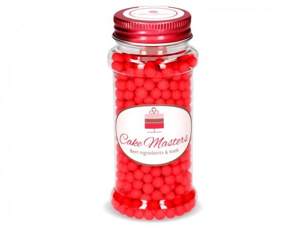 Weiche Zuckerperlen rot 60g