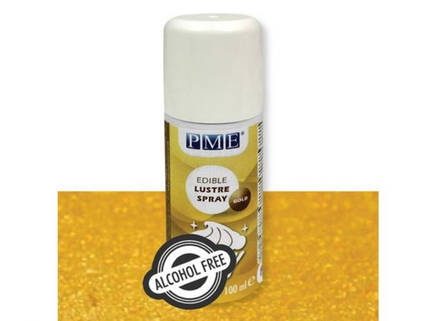 Glanz Spray Gold - alkoholfrei, 100ml