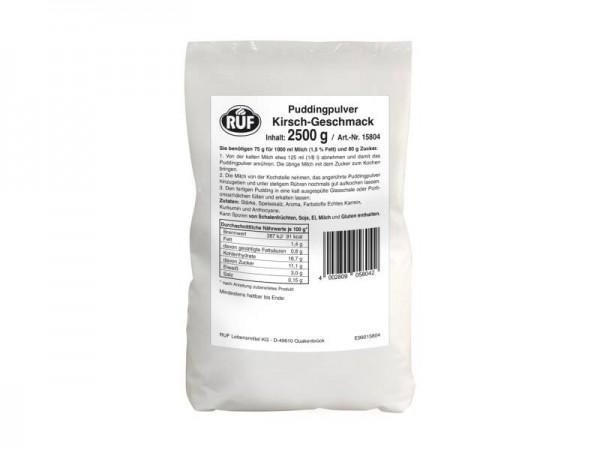 Puddingpulver Kirsch 2,5 kg Beutel