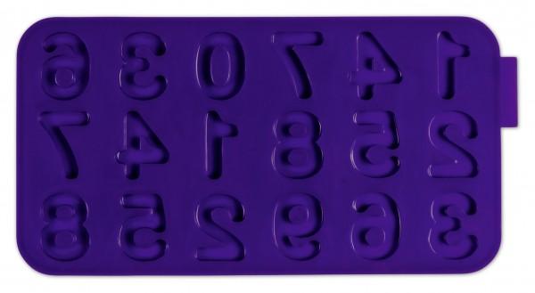 Schokoladenform - Zahlen