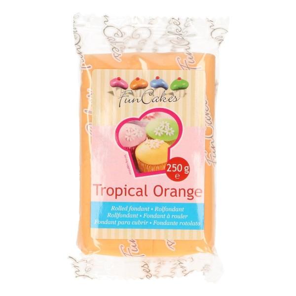 FunCakes Rollfondant Tropical Orange 250gr