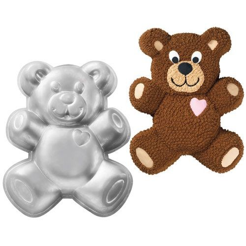 Wilton Teddy Bear Pan_1