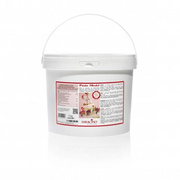 Weisser Modellierfondant Saracino Pasta Model - 5kg