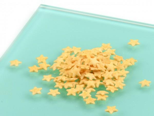 Streudekor Sterne gold 50g