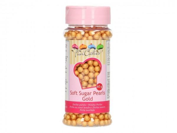 Weiche Perlen Gold 60g